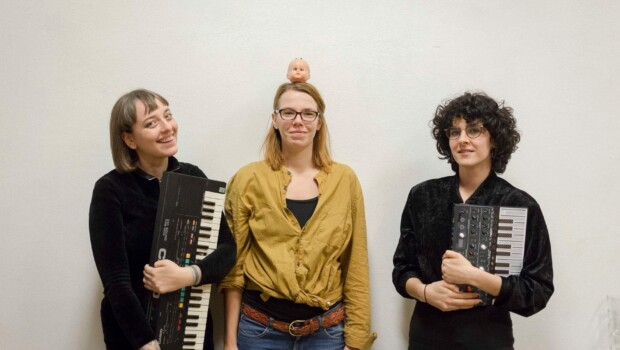 Zosia Holubowska, Adele Knall, Violeta Gil Martínez (c) Tina Bauer