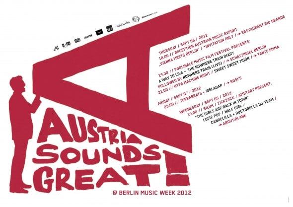Austria Sounds Great - Berlin Music Week 2012