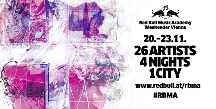 RED BULL MUSIC ACADEMY WEEKENDER: November 20-23, 2014