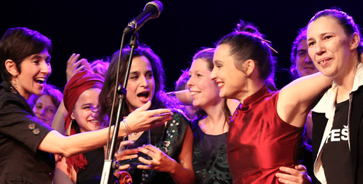 Madame Baheux are the Winners of the Austrian World Music Awards 2014