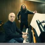 JONATHAN MEESE - German artist JONATHAN MEESE and Austrian composer Bernhard Lang 2017 © PHOTOGRAPHY JAN BAUER . NET / COURTESY JONATHAN MEESE . COM