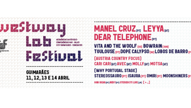 Westway LAB Festival 2018, Banner