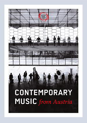 Contemporary Music In-Austria, brochure 2018, cover
