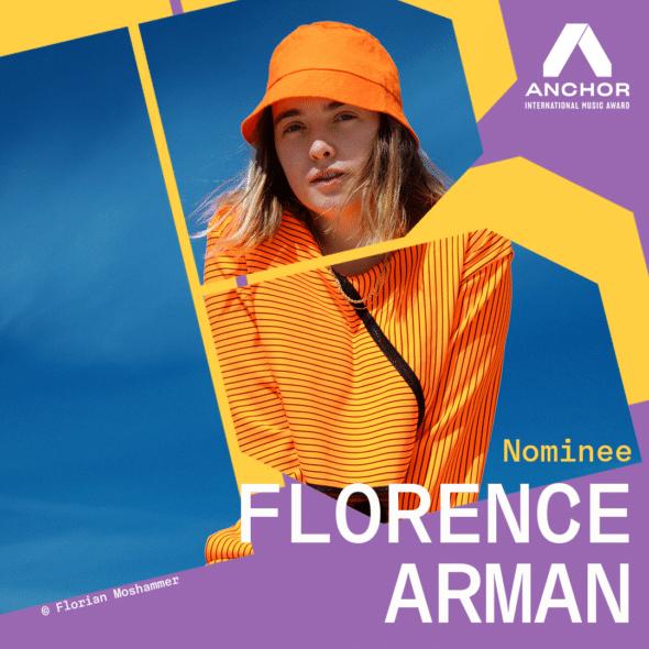Anchor Award 2021 - Florence Arman