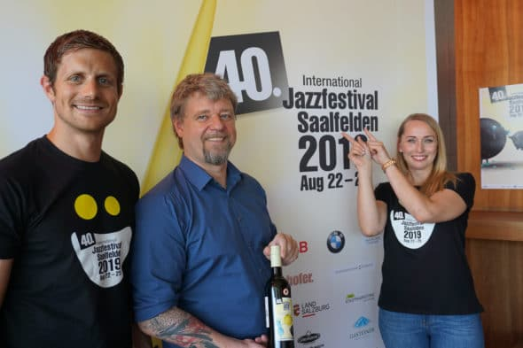 Press Conference (c) Jazzfestival Saalfelden