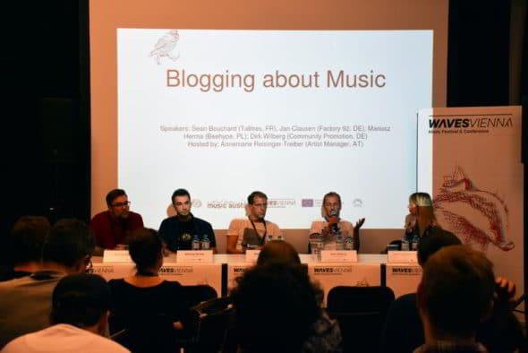 Waves Conference 2018, Blogging © Anna Breit