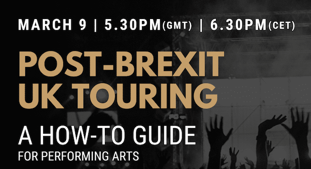 Post-Brexit UK Touring Workshop